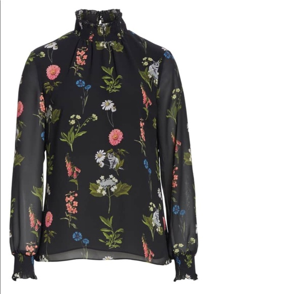 14266acec309b9 Ted Baker Taalia Florence Floral Blous
